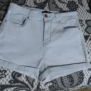 Forever 21+  jeans Short size 14